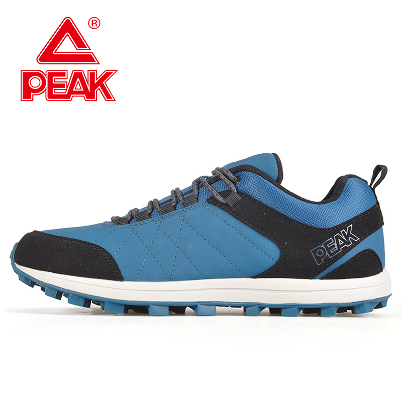 Peak/olympic outdoor sports series men's classic outdoor sports shoes slip resistant casual E44247G