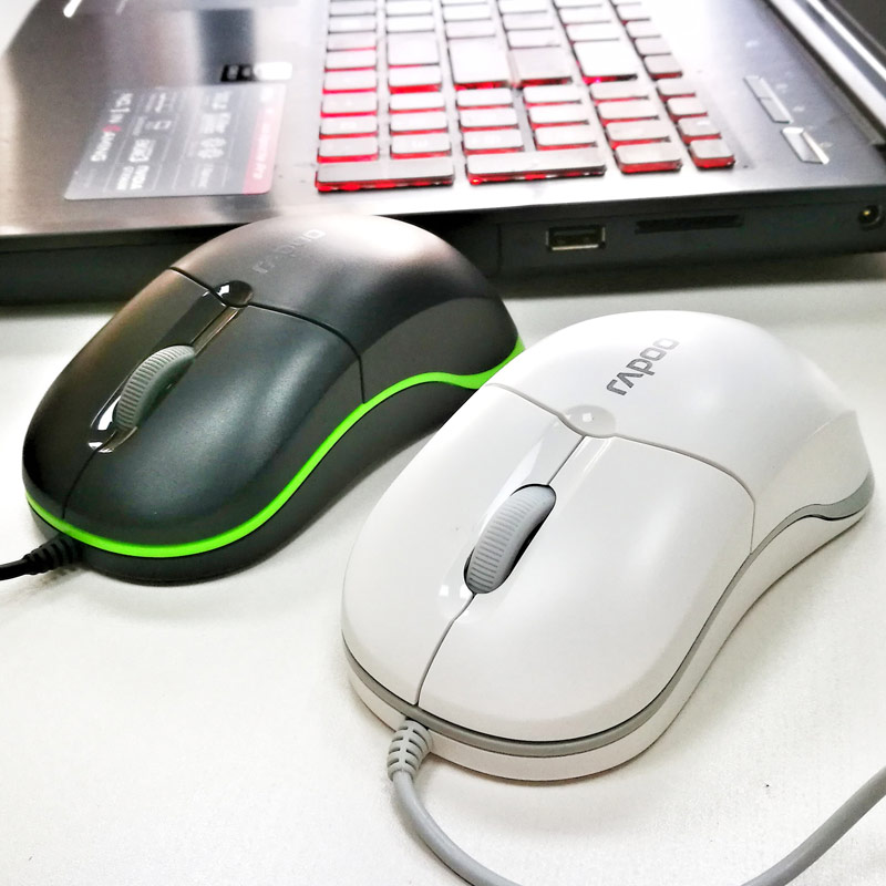 Pennefather n1100 office notebook gaming mouse usb wired computer mouse genuine original shipping