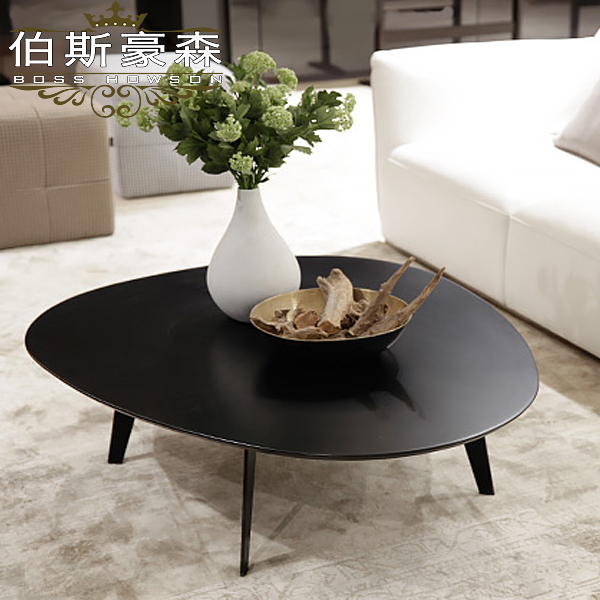 Perth stockhausen teapoy black lacquer coffee table minimalist wood coffee table living room coffee table tea table can be customized