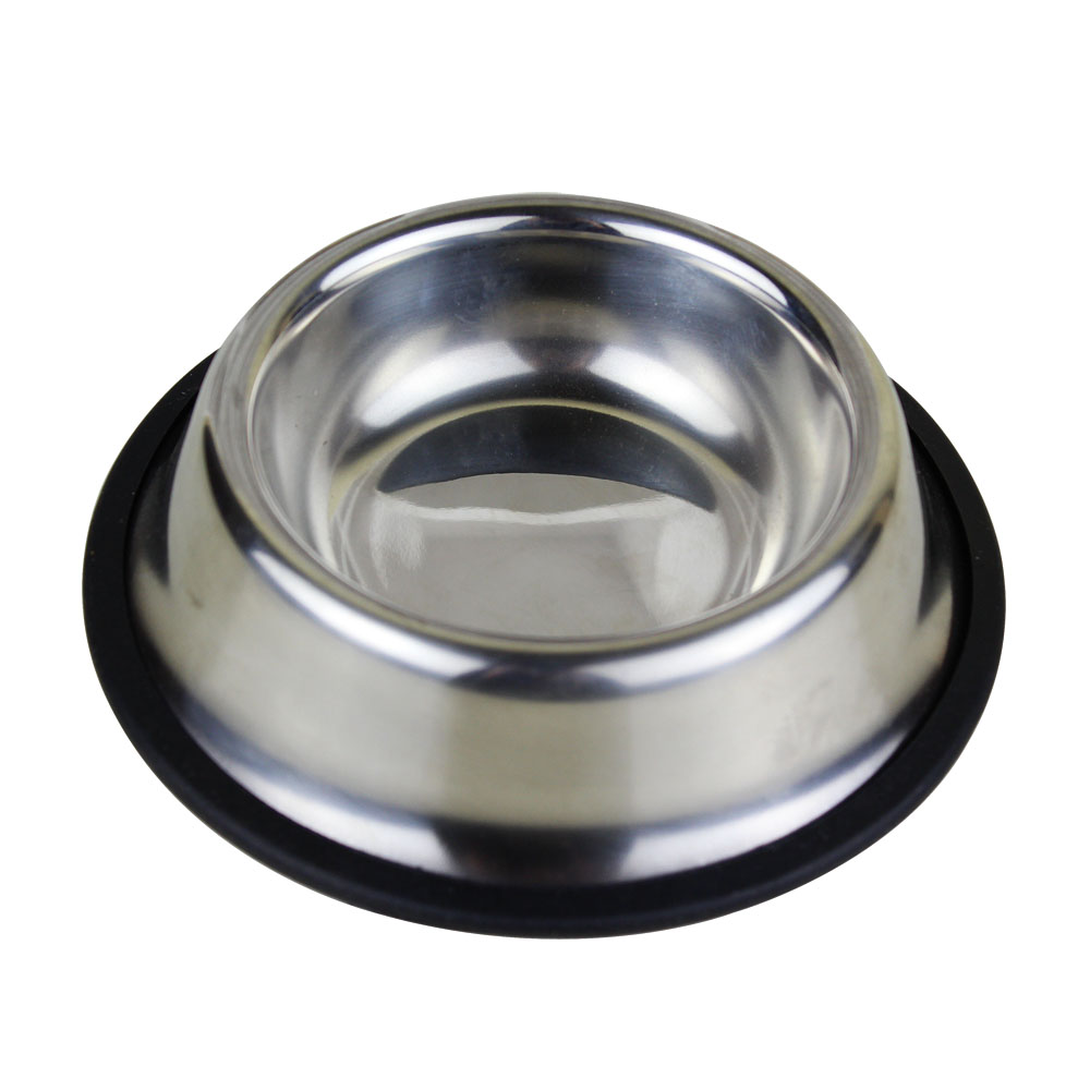 Pet bowl dog bowl pet water bowl dog bowl teddy small dog bowl dog food bowl stainless steel bowl xs number