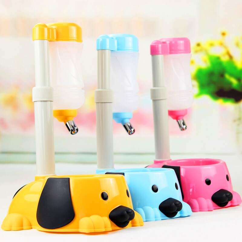 Pet dog drinking water supplies can lift the dogs and cats dog drinking fountain drinking water filter kettle dog