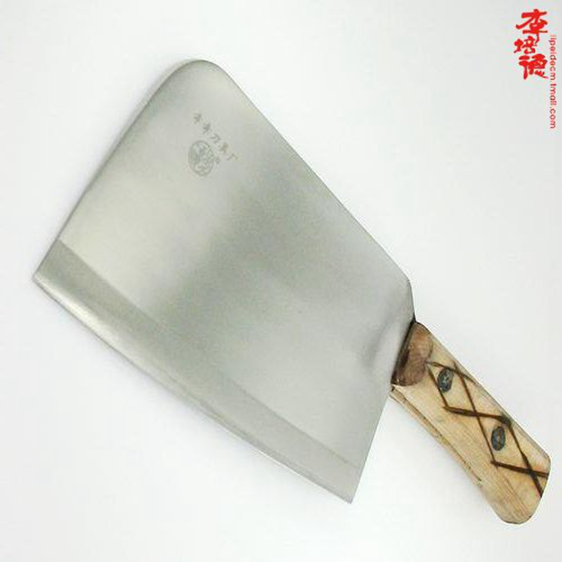 Peter li knifed bone knife handmade forged stainless steel kitchen knives chef knife chop bone knife butcher slaughter chop bones Bone