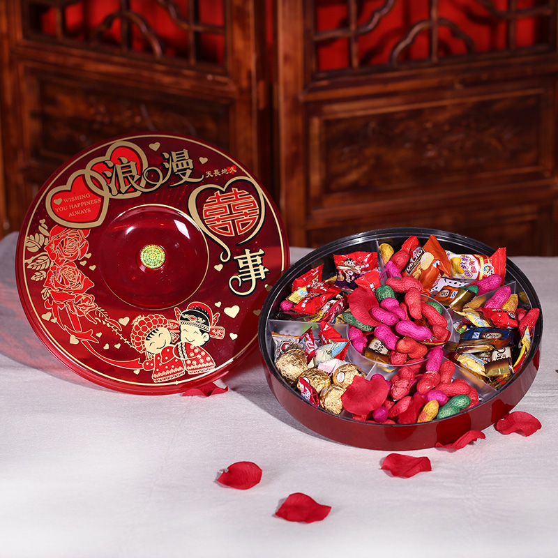 Philippine find wedding celebration supplies candy dish round amphisarca plate guo he dried fruit boxes plastic hi word wedding supplies essential