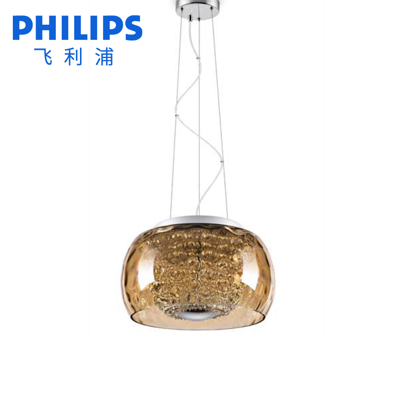 Philips led correted adjustable color temperature glass shade chandelier crystal chandelier lamp living room dining jane code code chen