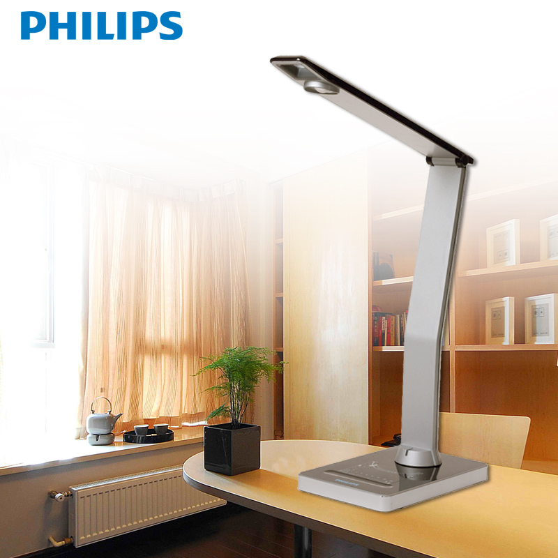 Philips led lamp eye lamp students study and work office desk lamp philips lamp dimmer crystal sharp