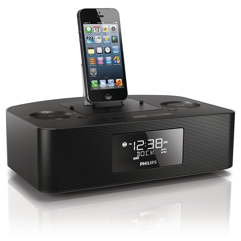 Philips/philips aj7050d 5S iphone6plus ipad apple dock speaker phone