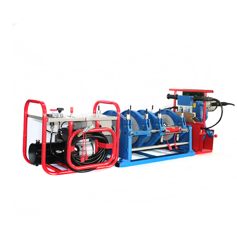 Photosynthetic 160-355 pe butt welding machine pipe natural gas hydraulic hydraulic pipe automatic welding machine hot melt machine
