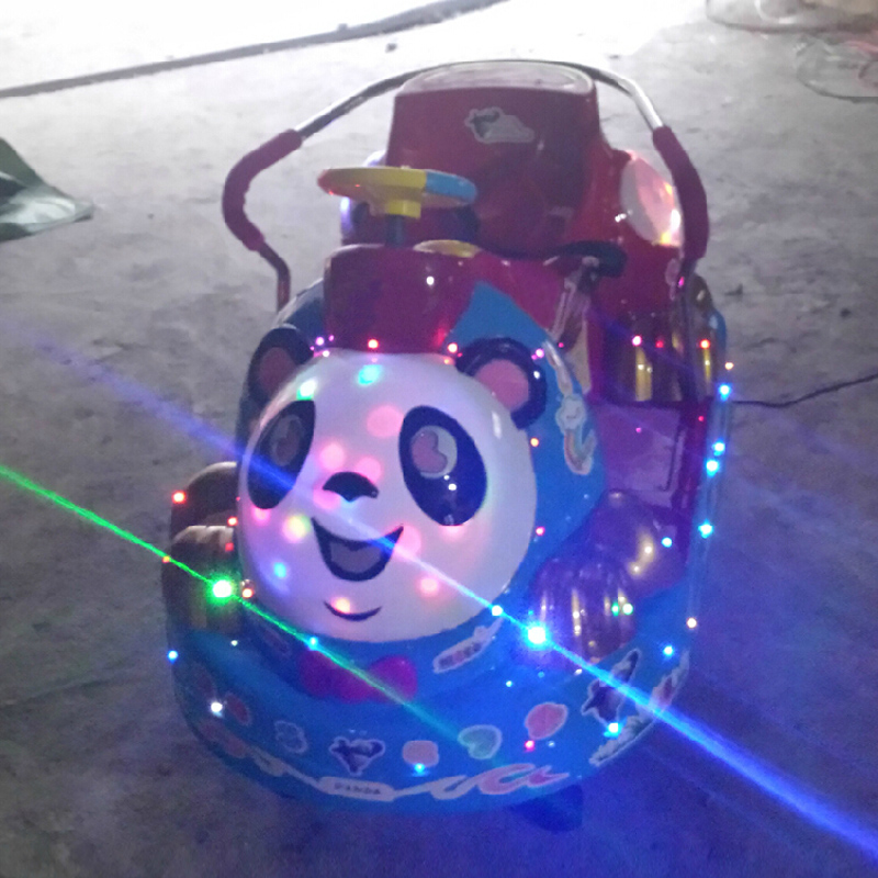 Photosynthetic coin shook his car rocking horse shook his car swing car coin consoles electric swing machine toy horse