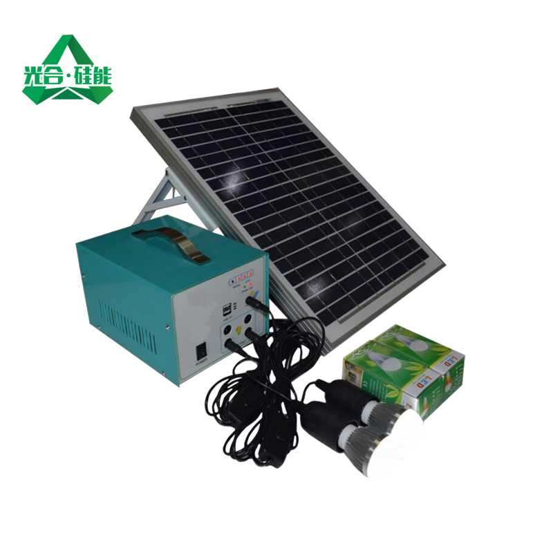 Photosynthetic silicon can w small solar photovoltaic power generation system portable generator home beekeeping pakoda