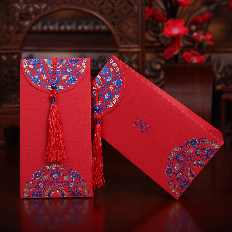 Pick up art lace hi word wedding candy box candy packaging cartons of chinese creative wedding candy bag special thick