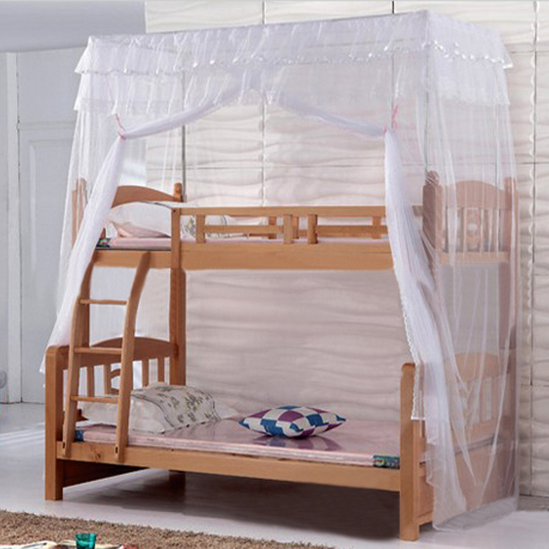 Picture bed bunk bed bunk bed bunk bed nets mosquito nets can be customized students a stainless steel square nets