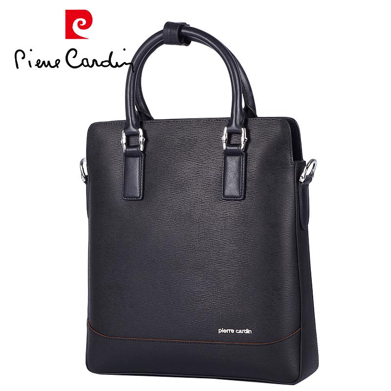142d964e507c Buy Pierre cardin men leather handbag business leather man bag leather man  bag genuine leather hand bag korean version of the password lock soft  leather ...