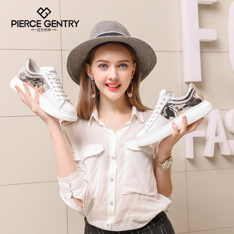 Pierre world gentry 2016 new shoes spring sports shoes women platform shoes flat shoes korean version of casual shoes shoes