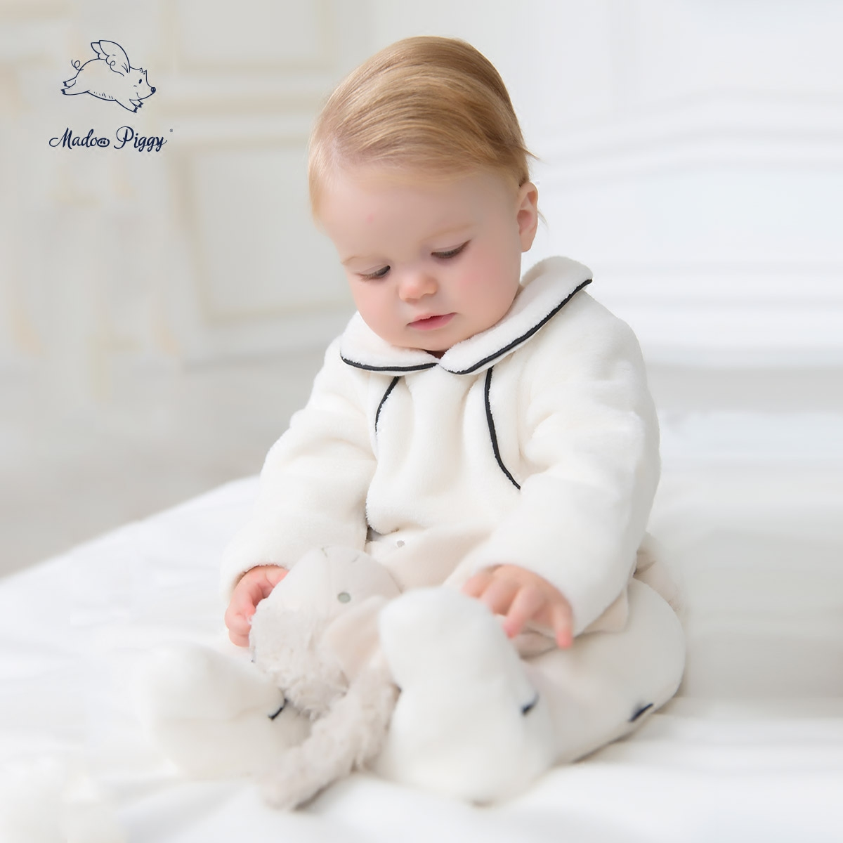 074dfe007 Buy Pig wheat are winter new baby warm winter baby coveralls thick ...
