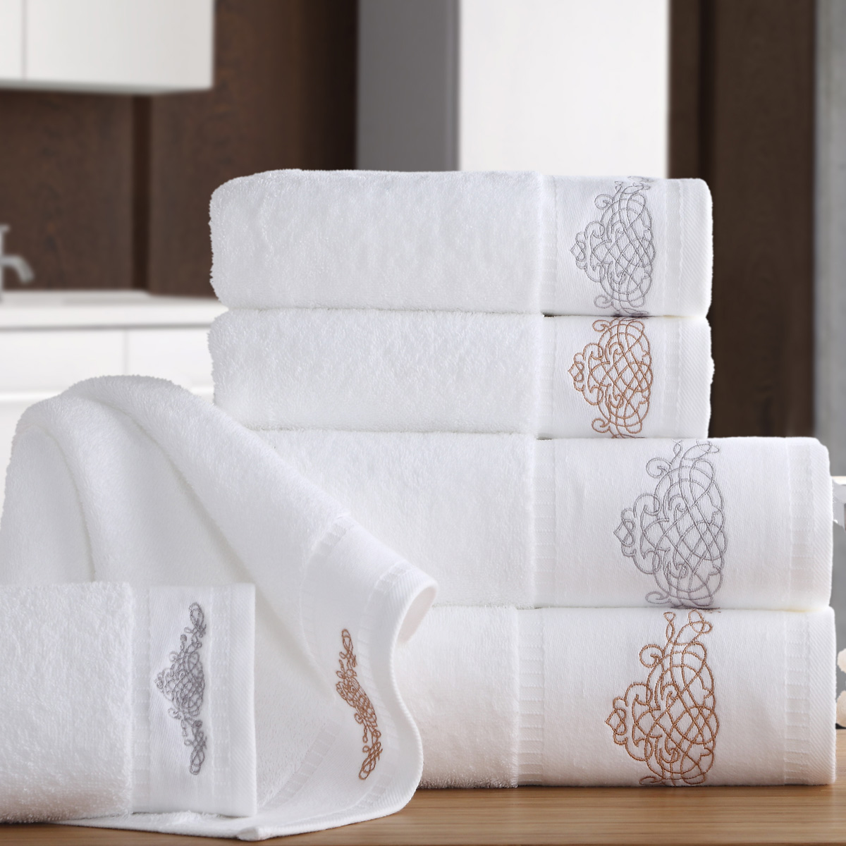 Pine forest hotel cotton embroidered towel towels to increase thicker soft towel towels towels bra adult male ms. couple