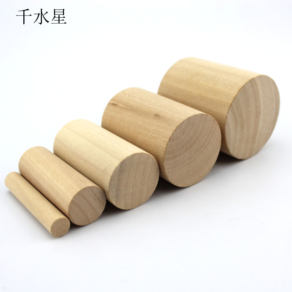 Pine logs pillars cylindrical small round wooden round stick model material diy decorative wood preservative