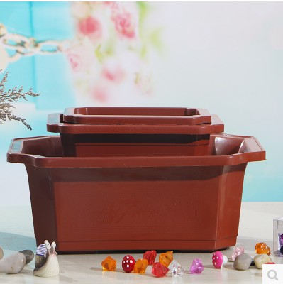 Plastic flower pots plastic pots of twelve angle plastic nursery pots pots seedling illiciaceae is candock pots mobile tray