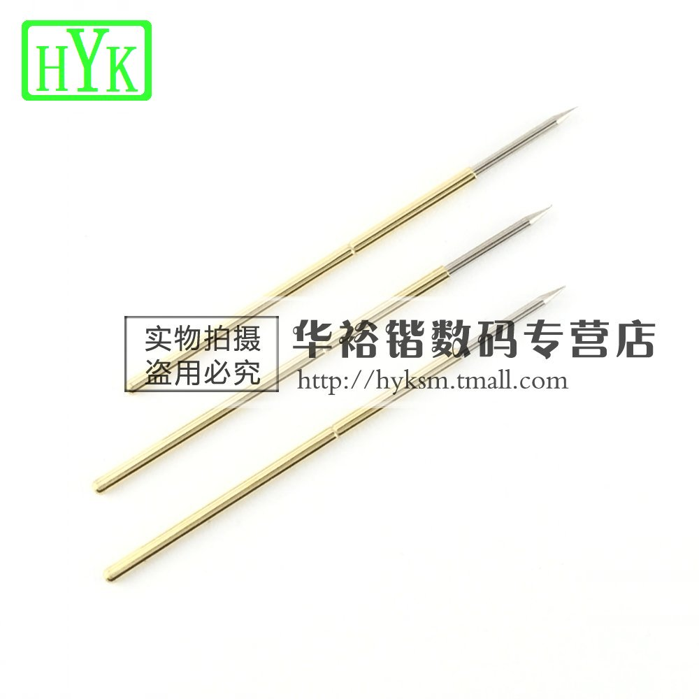 Plate spring tip pcb testing needle probe test probe pl75-b1 probe tip 1.0mm