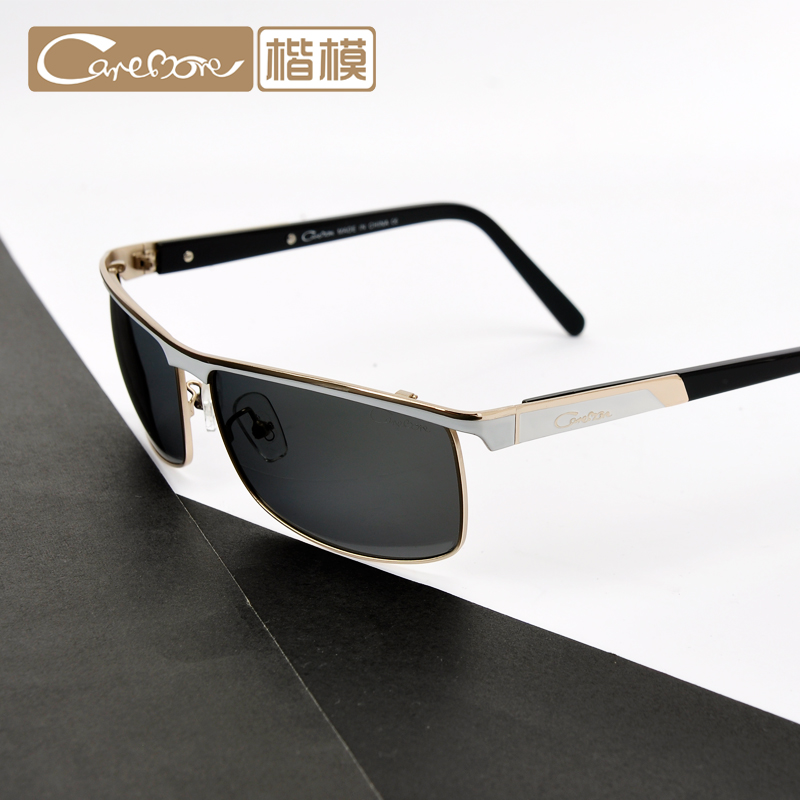 Plate temples brow line half frame sunglasses men polarizer sunglasses driving sunglasses fishing shipping