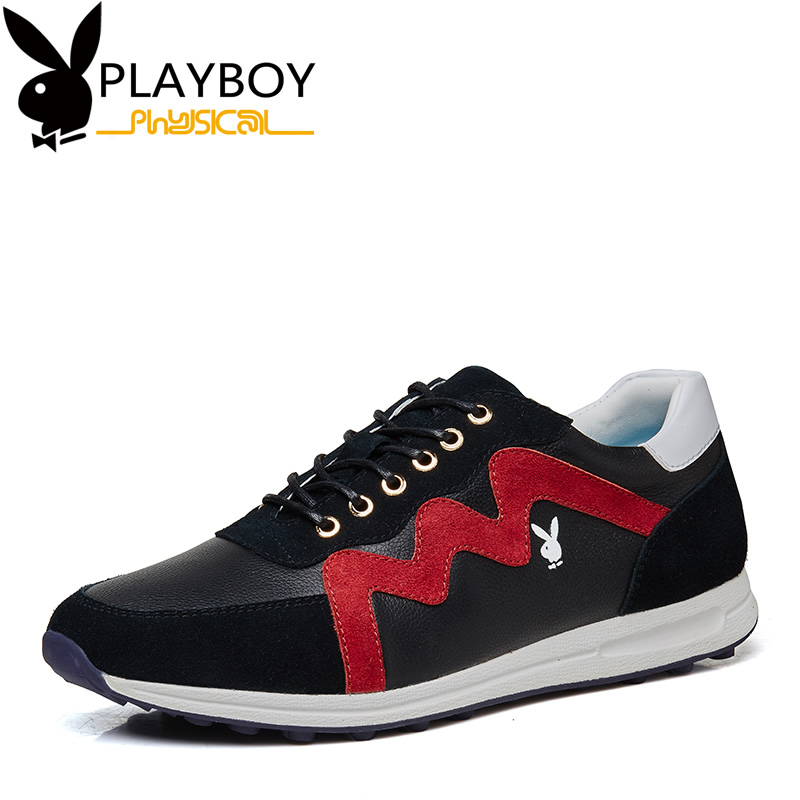 Playboy men's new fall shoes men leather shoes tide shoes sports shoes fashion casual shoes
