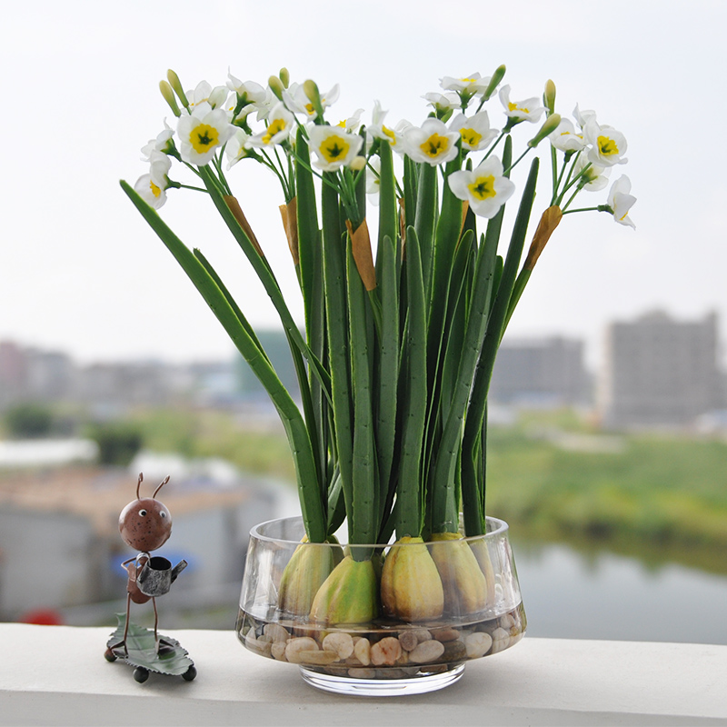China cleaning fake flowers china cleaning fake flowers shopping get quotations plucking daffodils suit artificial flowers modern fake artificial flowers silk flower floral living room furnishings decorative mightylinksfo