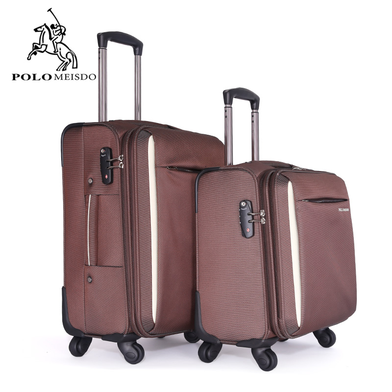 Polo paul business travel luggage trolley case oxford cloth bags for men and women generic tens of thousands of 20 box luggage suitcase caster polo