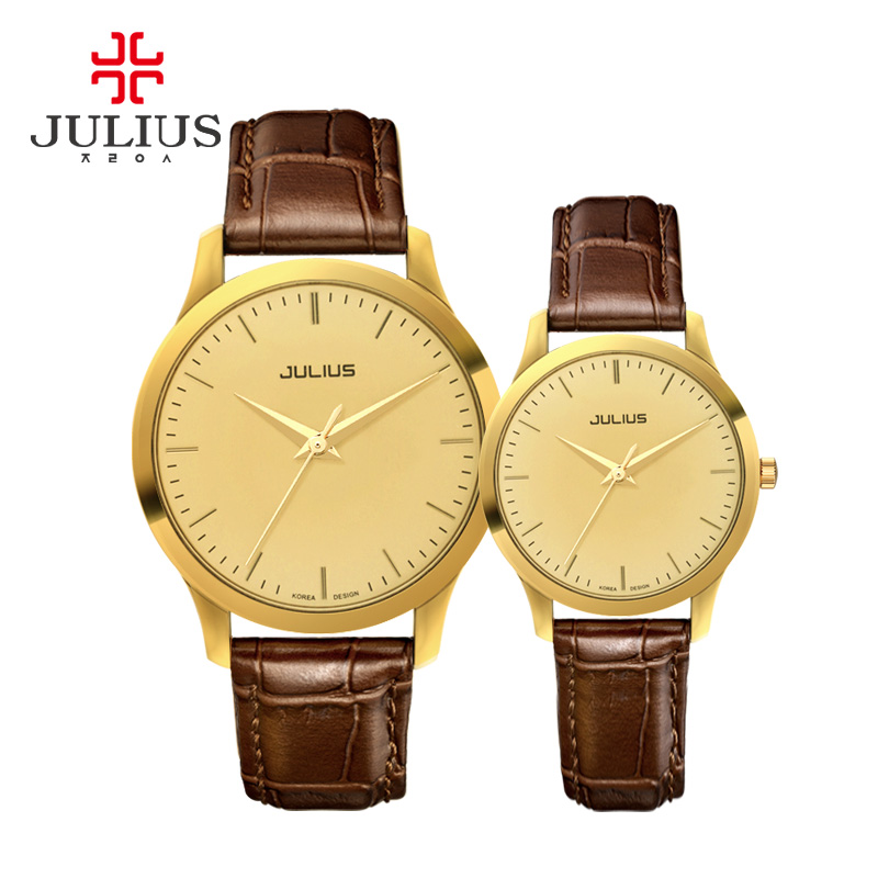Poly lee when the new korean simple fashion watches couple watch men watch women watch quartz watch waterproof belt JA-709