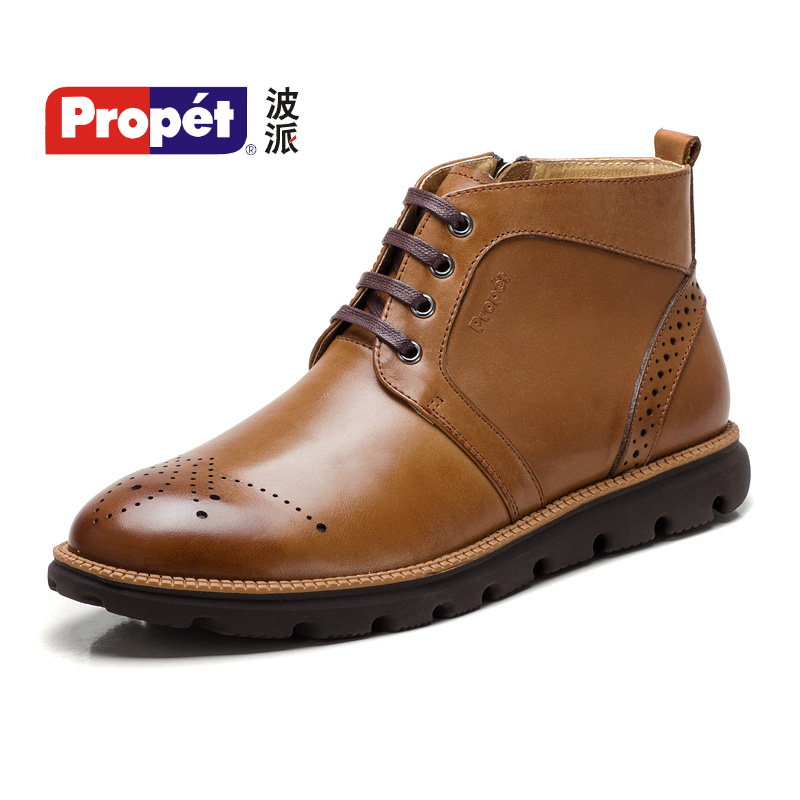 Popeye 2015 new martin boots male boots high to help england spring leather boots male boots bullock carved male shoes
