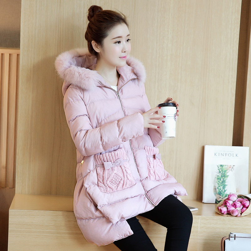 Pregnant women pregnant women new winter jacket and long sections coat winter coat down cotton thick padded jacket pregnant women