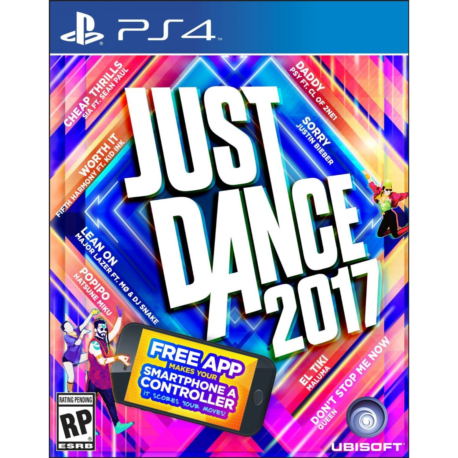 Preloaded with genuine ps4 somatosensory game discs just dance 2017 just dance 2017 chinese version