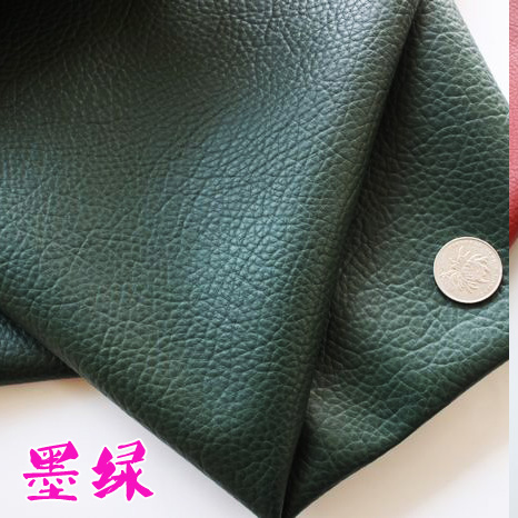 Price of half of dark green and a half pu leather large embossed faux leather bag decoration diy roolls thehigh