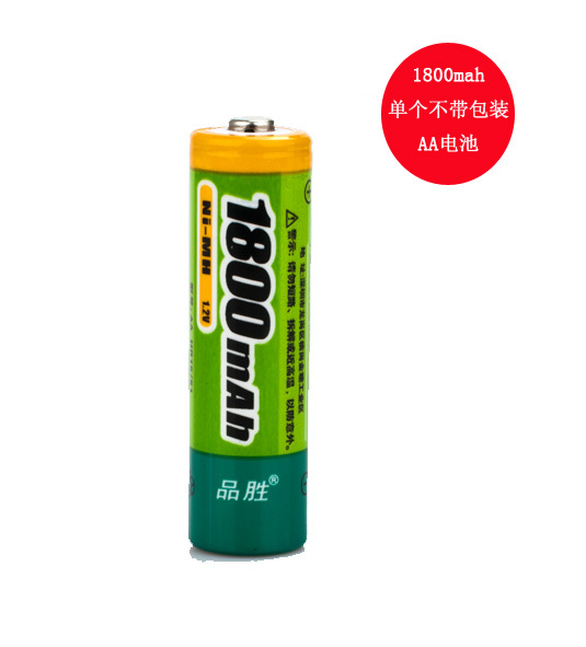 Product wins 5 aa rechargeable batteries rechargeable battery 1800 mah nimh rechargeable batteries rechargeable battery single price without packaging