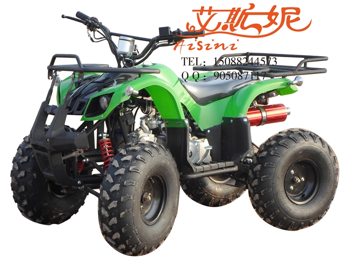 Promotional new 125 8 inch small bull atv atv sport utility vehicle four dual exhaust motorcycle mount after double Shock absorber