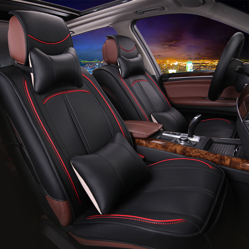 Pu leather pu leather car seat summer pu leather cushion surrounding pu leather seat cover car seat summer spring spring
