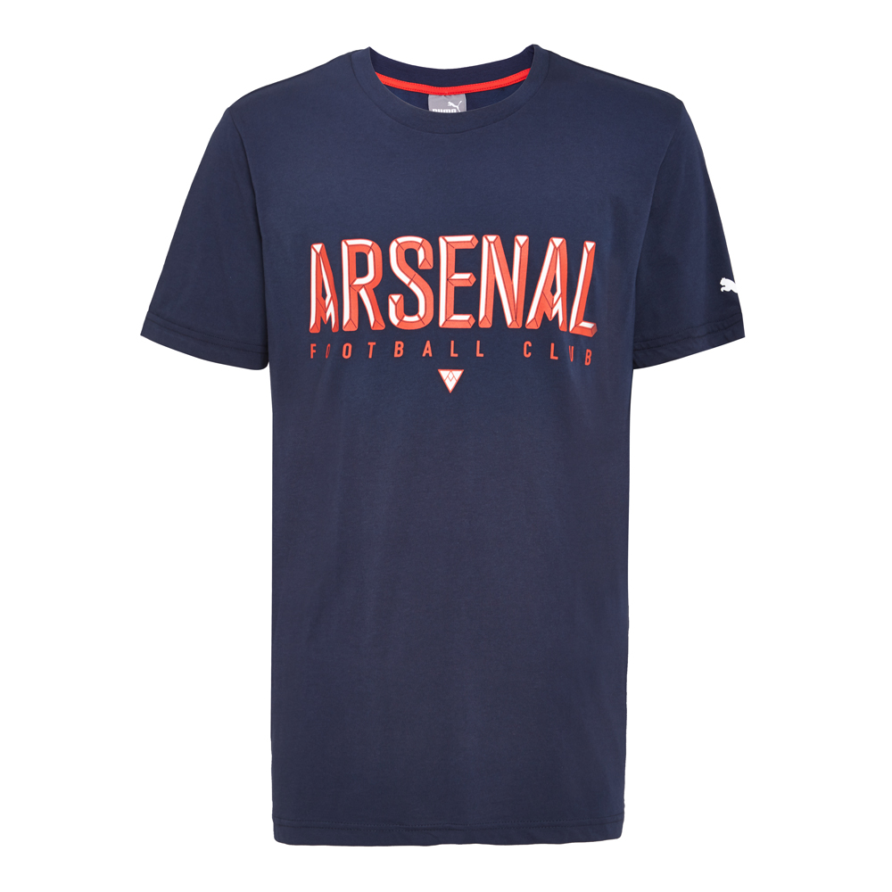 9667557d5e5 Get Quotations · Puma puma 2016 new men s soccer club arsenal fans clothing  short sleeve t-shirt 74914402