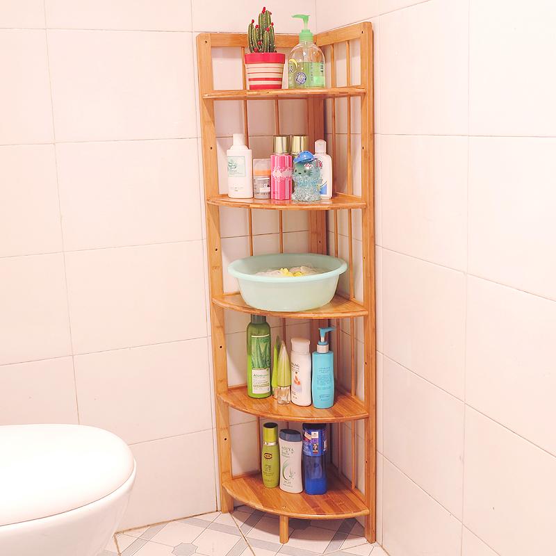 Wooden Corner Shelf Stand - Wooden Designs