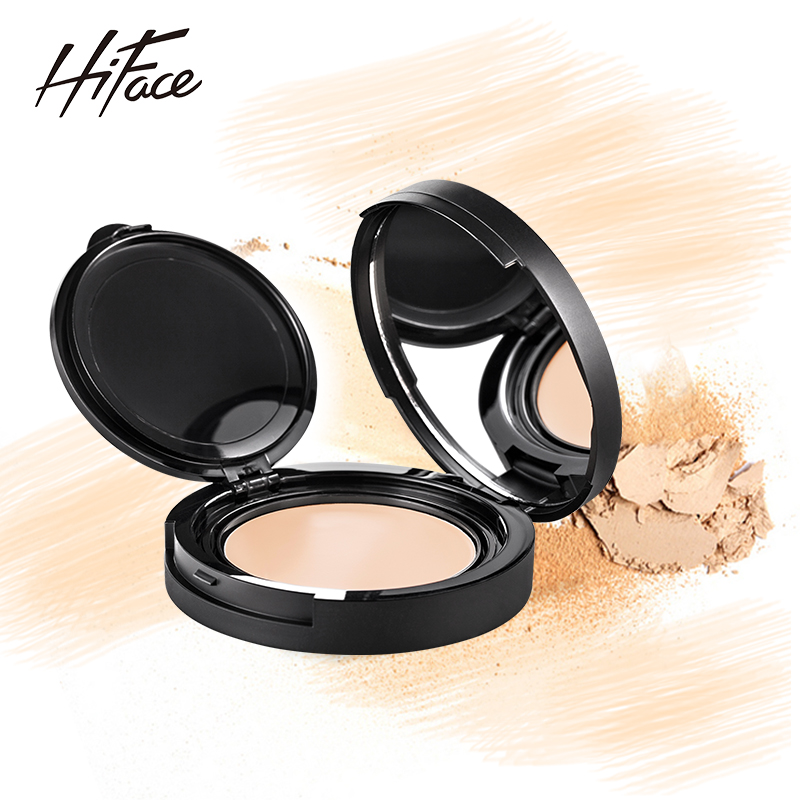 Qin yun korean family powder concealer nude makeup foundation cream to cover spots freckles acne scars paul moist lasting moisturizing waterproof