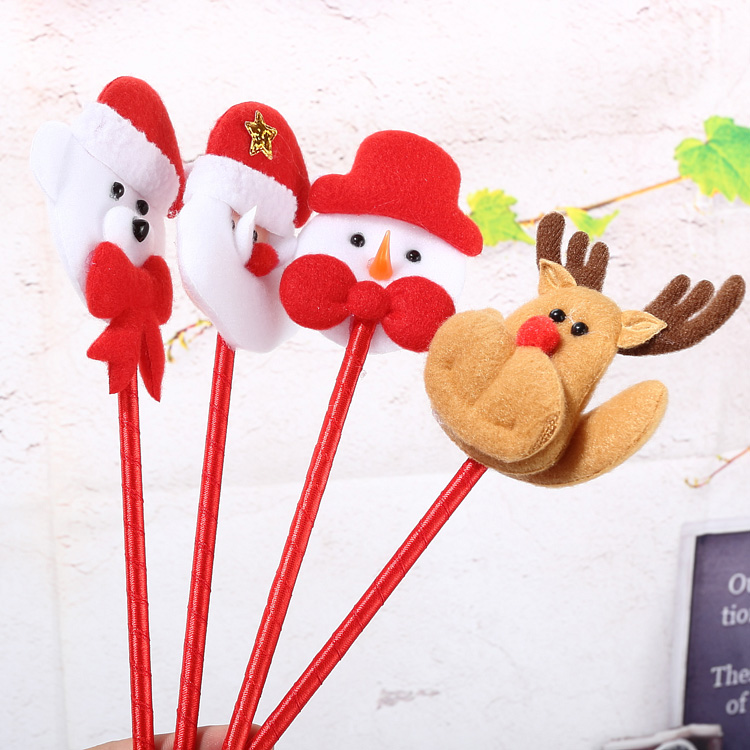 Qixuan christmas decorations christmas gifts santa claus christmas snowman christmas deer pen