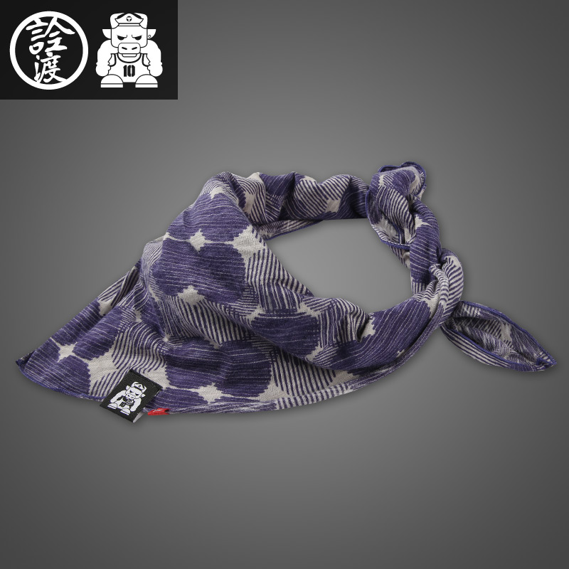 Quan crossing yield tide brand korean version of the dot scarf scarf fashion casual multifunction scarf 40582