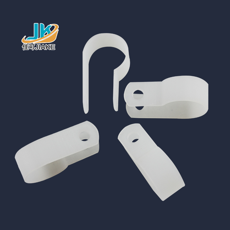 R type clamp 23mm plastic clip wire line card line deduction wire retaining clip cable management clip clip 200 r type Line card