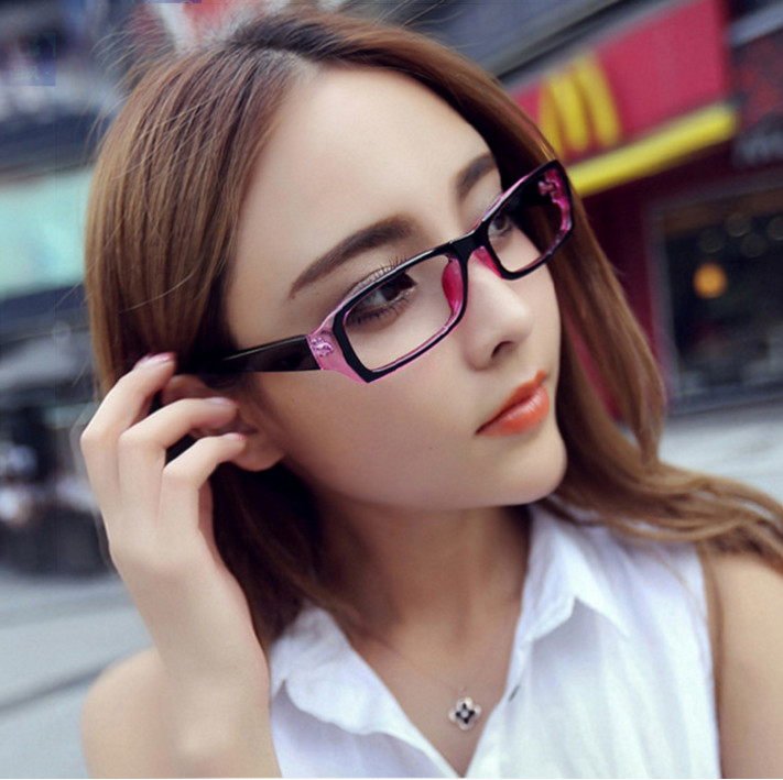 Radiation customized students ultralight myopia glasses frame optical glasses finished with myopia plain mirror mirror men and women
