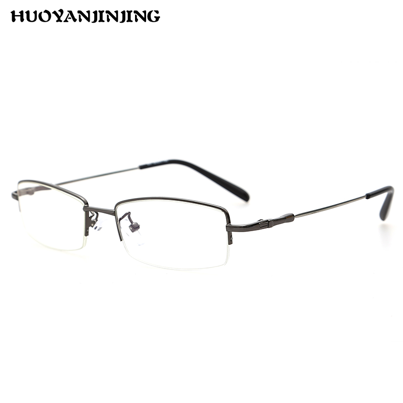 Radiation glasses anti fatigue half frame myopia retro glasses frames myopia frame eye glasses frame tide men and women