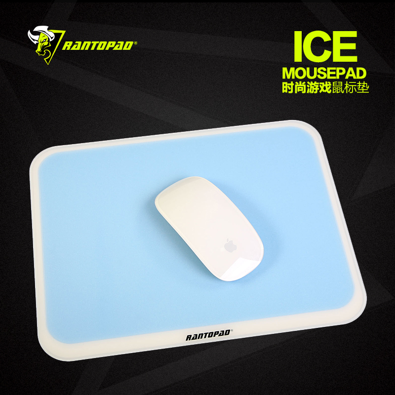 Radium billiton ice + professional gaming mouse pad super slippery hard plexiglass apple mouse pad free shipping