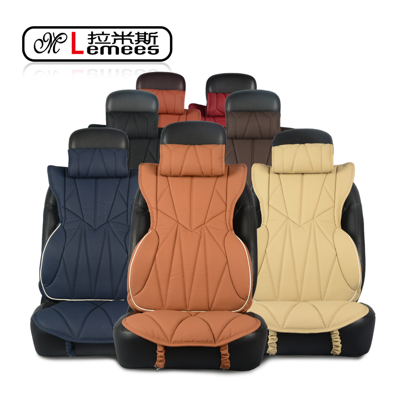 Ramis wholly surrounded by memory foam neck pillow car headrest pillow cushions car back waist lumbar cushion lumbar pillow cushion kit