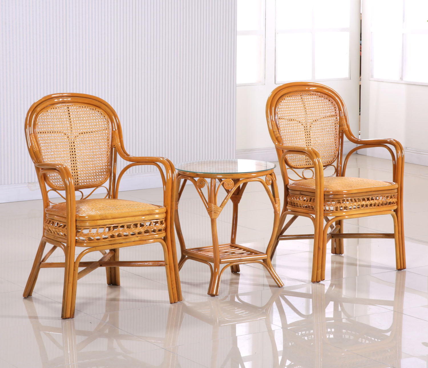 Rattan chair rattan chairs coffee table three sets of glass in the distribution of natural indonesian rattan upscale three sets