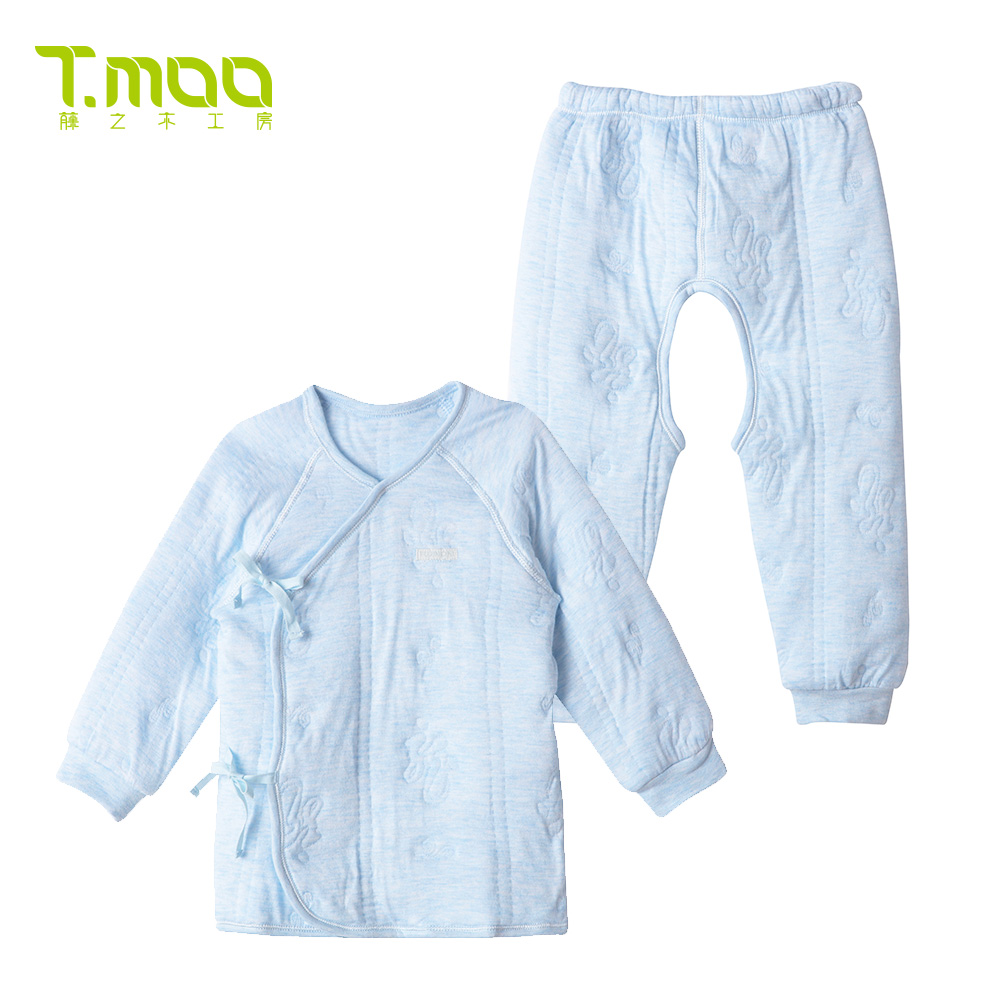 Rattan woodworking room clouds annunciation treasure treasure fall and winter underwear children's underwear suit baby thick winter clothing