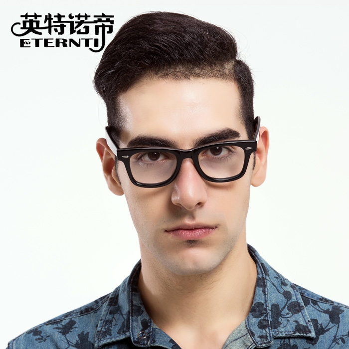 086af1f682 Get Quotations · Rb5121 retro fashion plate glasses frame glasses with  myopia tide male models female oversized frame glasses