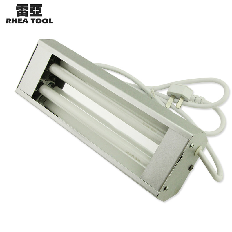 Reais shadowless glue curing uv lamp uv curing lamps shadowless lamp w shadowless lamp double pipe without Shadow light