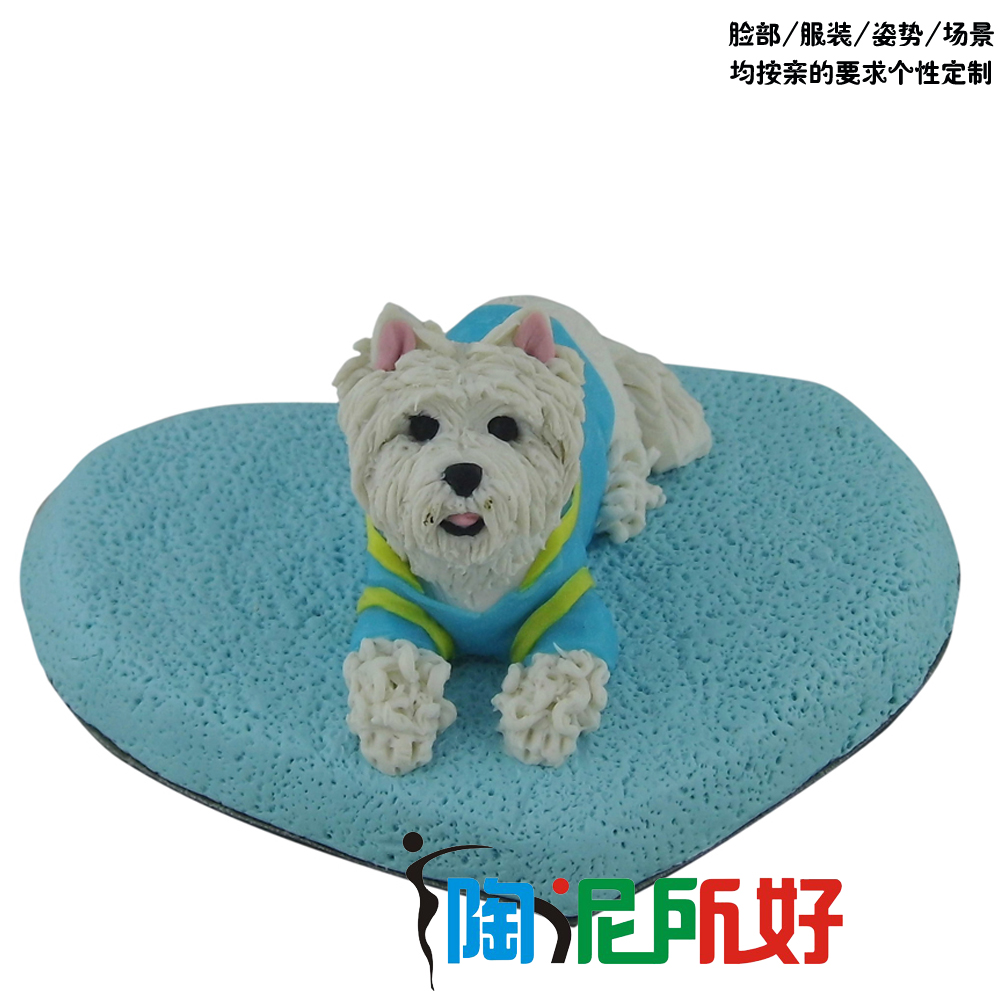 Realistic animal dog custom polymer clay doll real doll diy custom (extremely delicate high similarity)