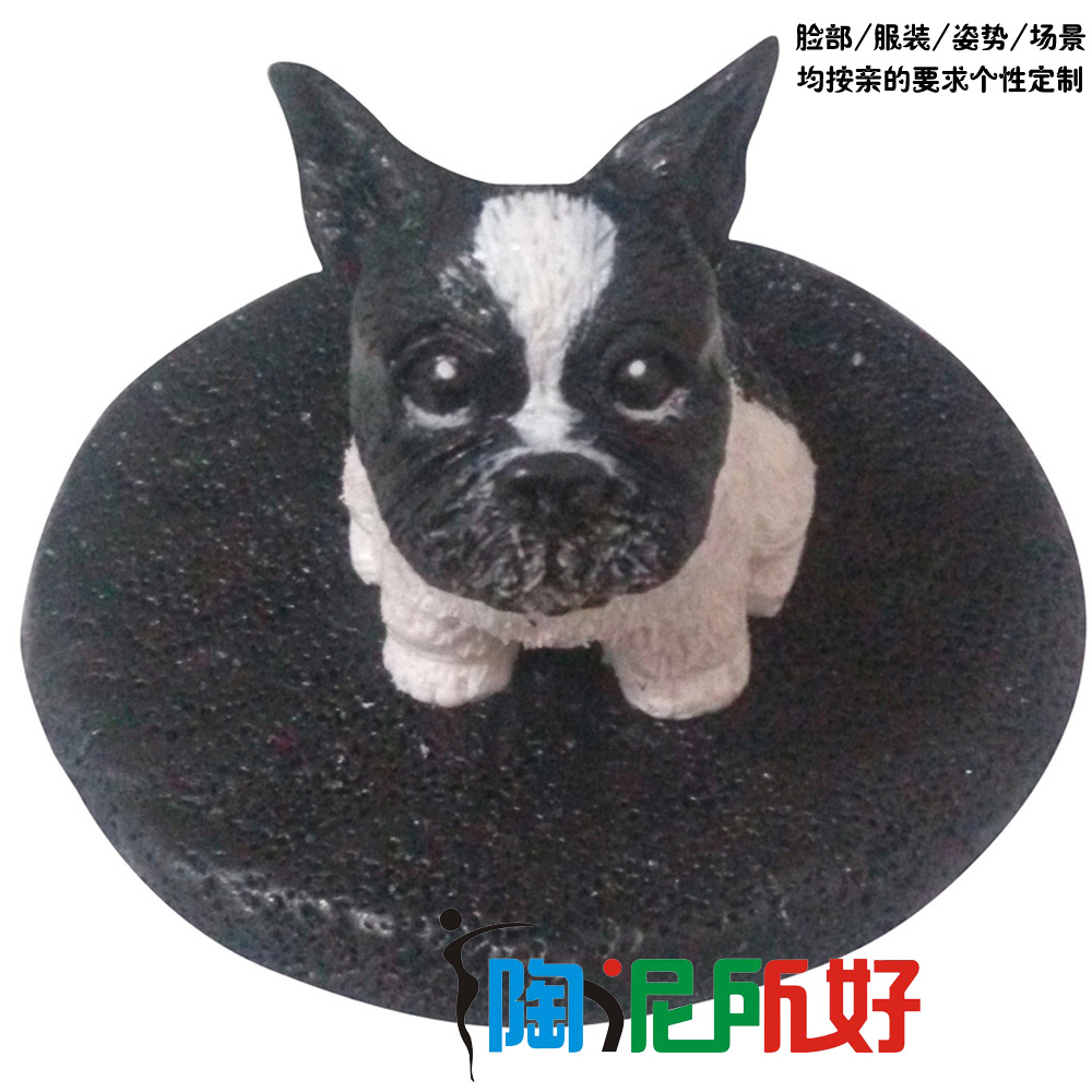 Realistic dog animal custom polymer clay doll real doll diy custom (extremely delicate, very high similarity)